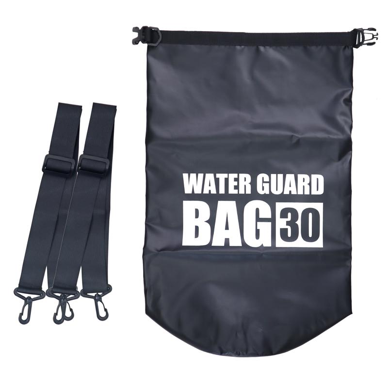 ウォーターガードバッグ30L KP-465 ショルダーベルト付 防水バッグ WAVE GEAR