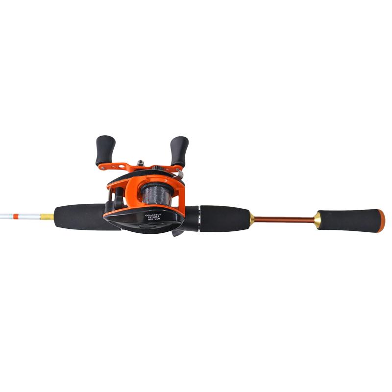 釣竿・ロッド カラフルテトラセット 110 リール+ロッドセット FIVE STAR フィッシング 釣り具