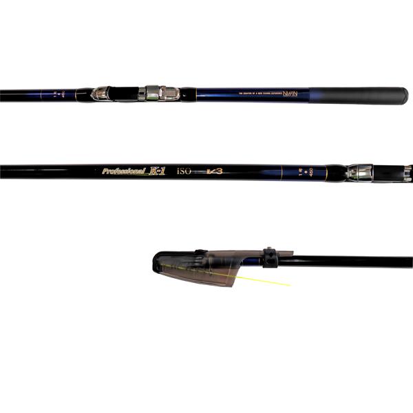 カーボンロッド プロフェッショナル K-1磯 V3 1号 450 5本継 ISO GEAR 宇崎日新(NISSIN) 釣竿 釣り具