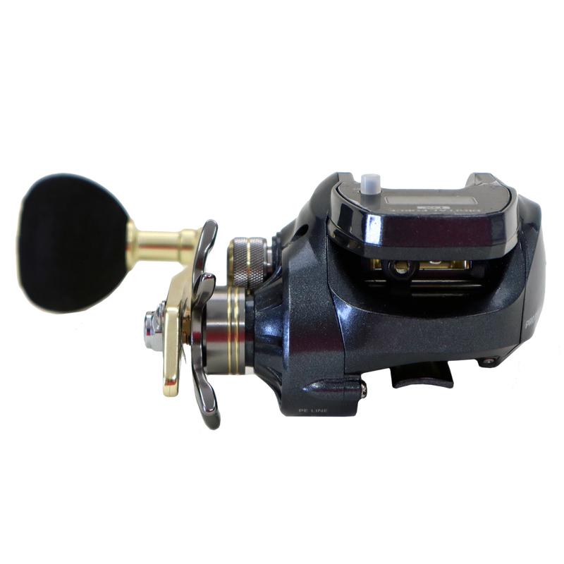 ベイトリール デジタルフォースDX DF200P PE3号150M糸ナシ プロマリン PRO MARINE 釣り具