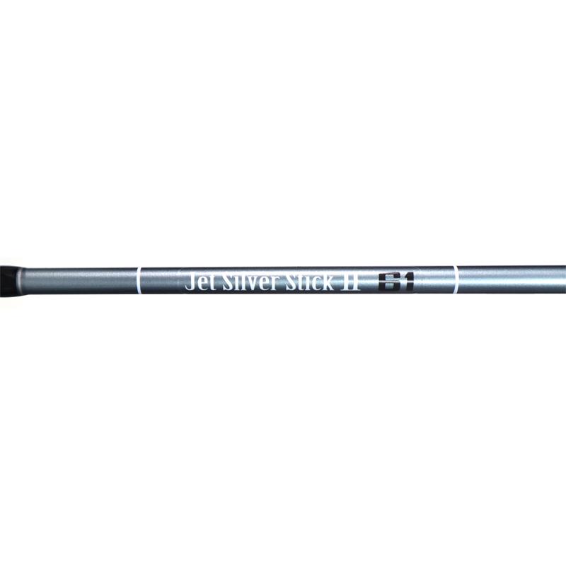 カーボンロッド ジェットシルバースティック2 61 継数2本 FIVE STAR(ファイブスター) ライトゲーム専用 アジング メバリングロッド 竿 釣り具