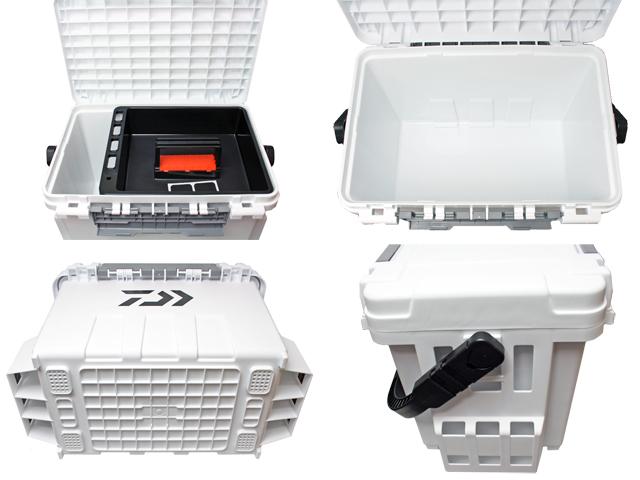タックルボックス TBシリーズ TB9000 ホワイト 6点セット 釣り用収納ハードボックス ダイワ