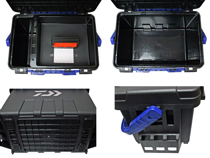 タックルボックス TBシリーズ TB9000 ソルティガ 6点セット 釣り用収納ハードボックス ダイワ