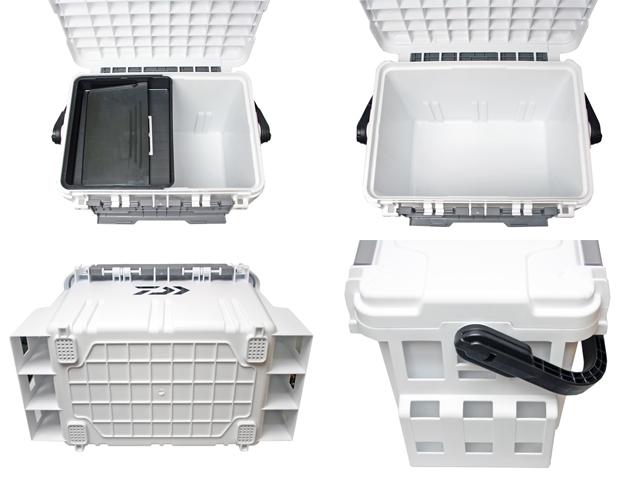 タックルボックス TBシリーズ TB5000 ホワイト 6点セット 釣り用収納ハードボックス ダイワ