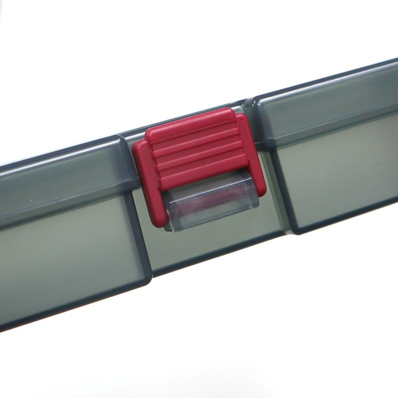 システムケース VS-906 5個セット 7インチ ワームプルーフ 内寸179×89×29mm VERSUS 釣具ケース