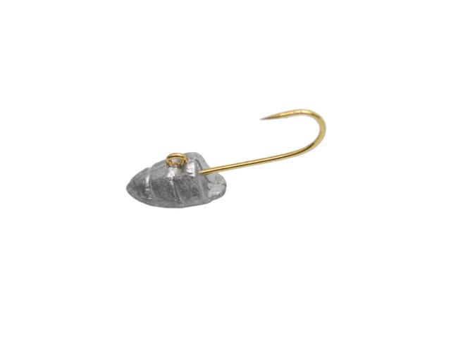ジグヘッド ハネエビヘッド 太軸金鈎 4個入り フックサイズ#8 haneebih 一誠(ISSEI) 海太郎 OWNER製 釣り具