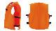小型船舶用救命胴衣 オーシャンC-3型オレンジ 4着セット 新基準 船舶検査対応 津波水害対策 国交省認定品 タイプA 検定品 桜マーク付