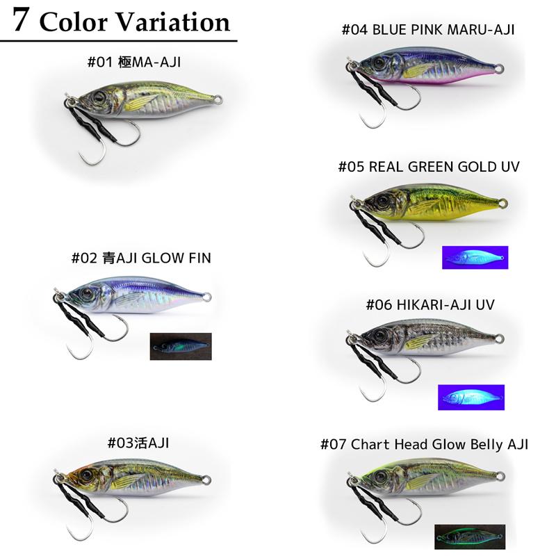 メタルジグ メタルアディクト タイプ06 40g/63mm LITTLE JACK 釣り具