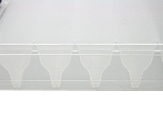 スペースを効率的に使用できる両面収納 エギルアーケース リバーシブル120 200×126×36mm MEIHO 明邦化学工業