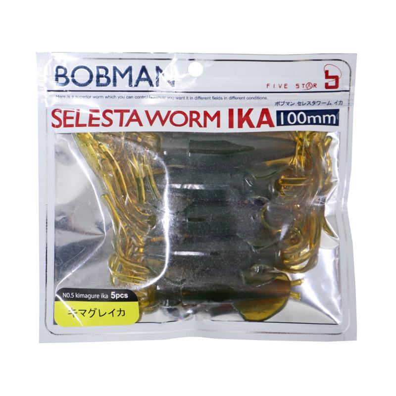 ボブマン セレスタワーム イカ 100mm フィッシング 釣り具