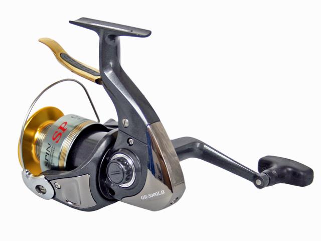 スピニングリール グレシアスピンSP GR-3000LB ドラグ&レバーブレーキ付き 釣り具