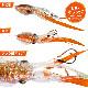 イカ型タイラバ プニラバ 60g ルミカ 新型タイラバ フィッシング 釣り具