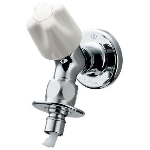 カクダイ 721-520-13 洗濯機用水栓(ストッパー、送り座つき)
