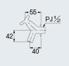 カクダイ 701-214-13 ガーデン用水栓//ブロンズ