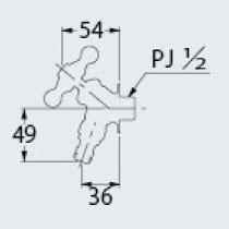 カクダイ 701-315-13 ガーデン用水栓