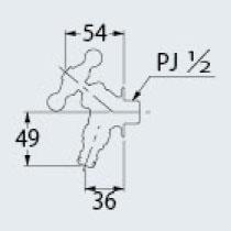 カクダイ 701-316-13 ガーデン用水栓(アンティーク)