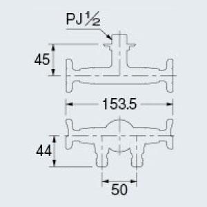カクダイ 704-127-13 ガーデン用双口水栓