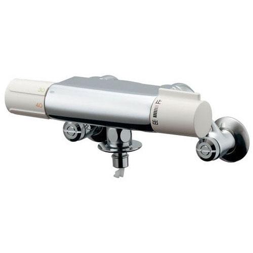 カクダイ 177-002 洗濯機用サーモスタット混合栓(ストッパーつき)