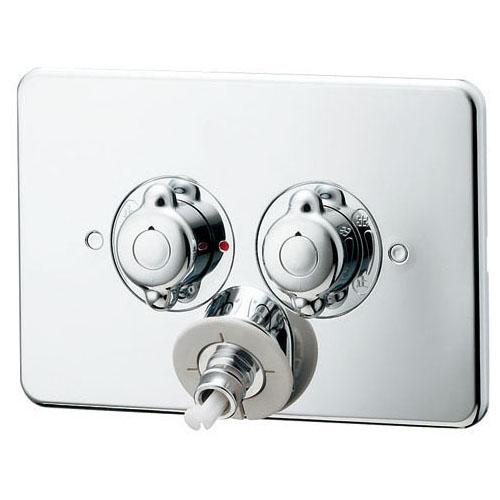 カクダイ 127-103 洗濯機用混合栓(天井配管用)