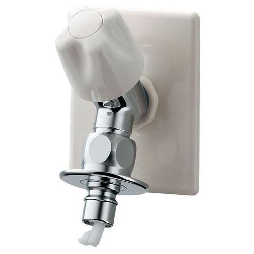 カクダイ 721-518-13 洗濯機用水栓(ストッパーつき)