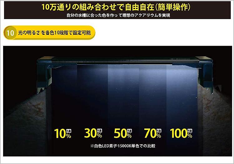 【照明器具】 ゼンスイ マルチカラーLED 450 調光リモコン付き