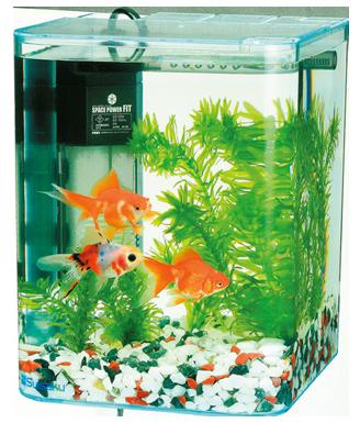 水作 リトルアクアリウム金魚飼育基本4+2点セット
