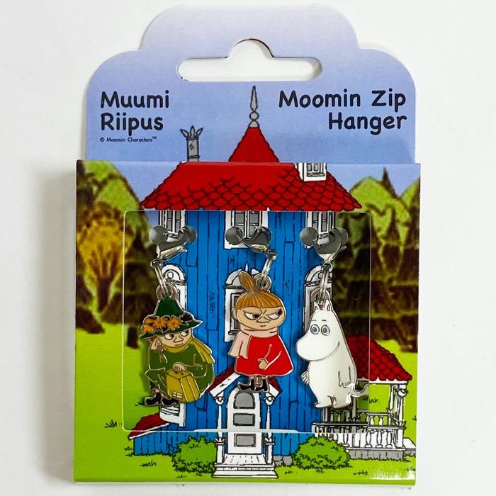 MOOMIN ムーミン ジップハンガー 3個セット