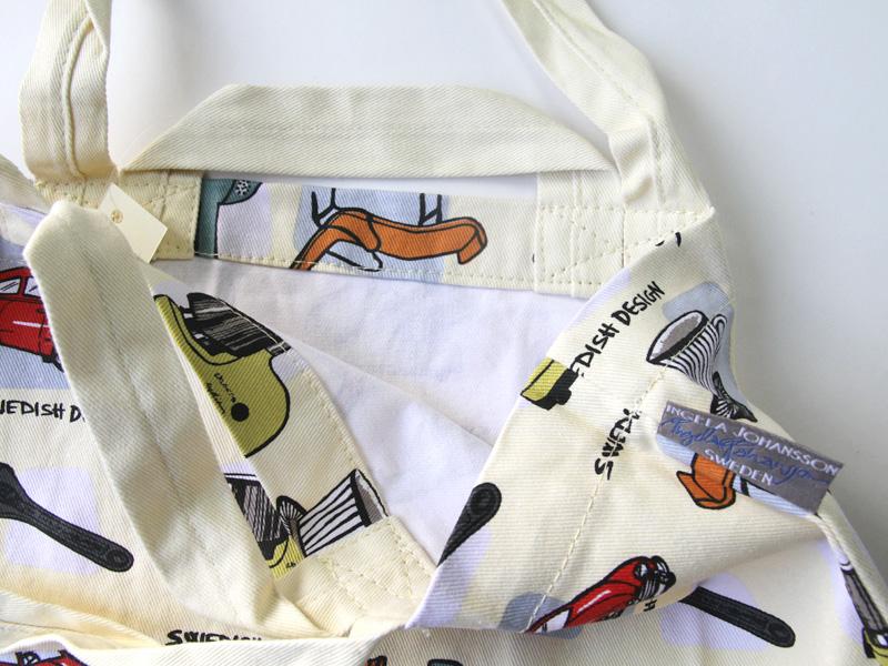 スウェーデンデザイン コットントートバッグ