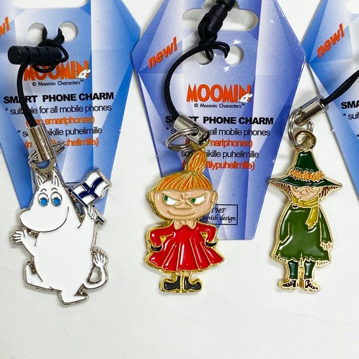 MOOMIN ムーミン 携帯ストラップ 3個セット