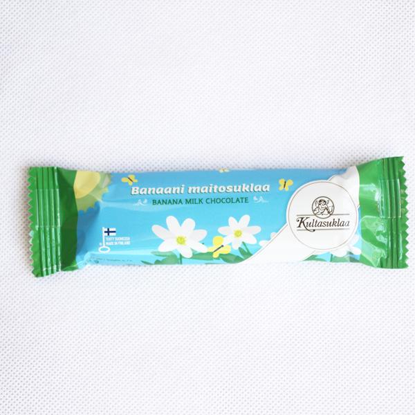 Kultasuklaa バナナミルクチョコレート 38g