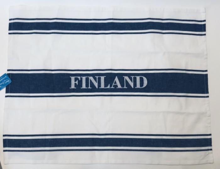 大判キッチンタオル フィンランド FINLAND