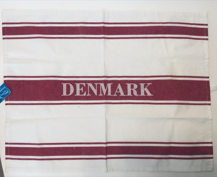 大判キッチンタオル デンマーク DENMARK