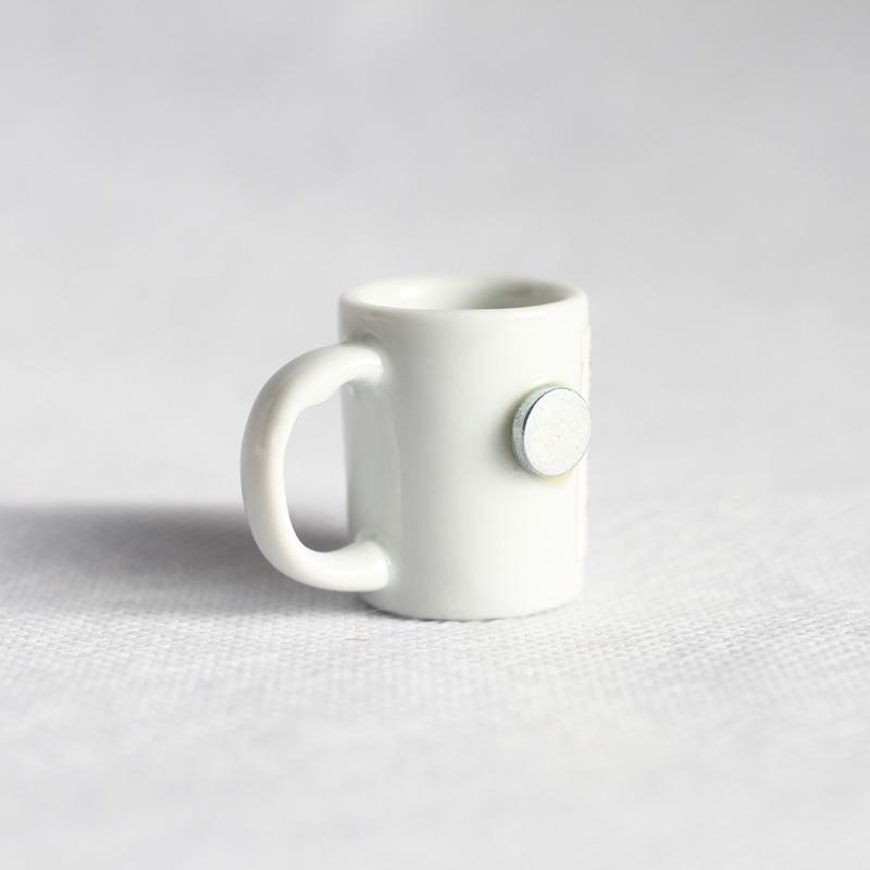 I Love Denmark ミニマグカップ型 マグネット