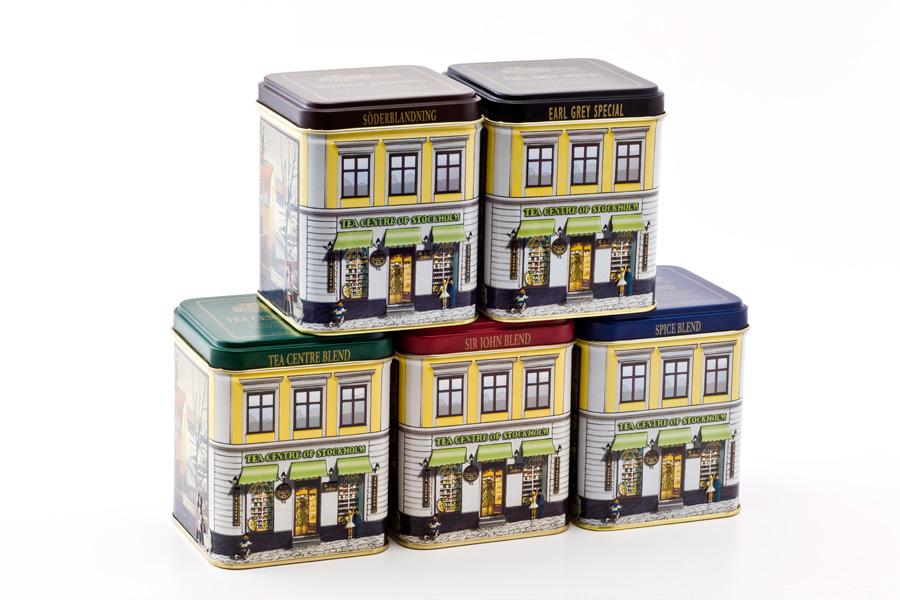 北欧紅茶 ティーセンターブレンド クラシック缶