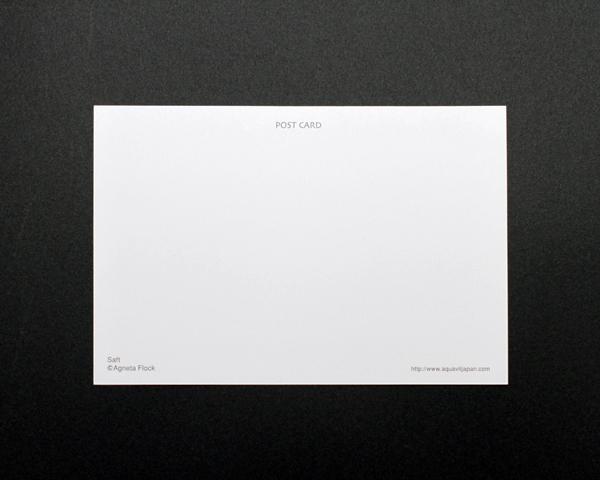 アグネータ・フロック ポストカード ジュース(Saft)