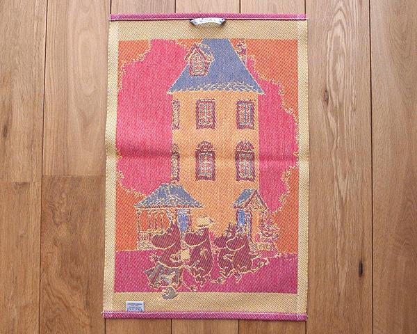 北欧雑貨 エーケルンド (Ekelund) タオル Moomin House 35×50cm