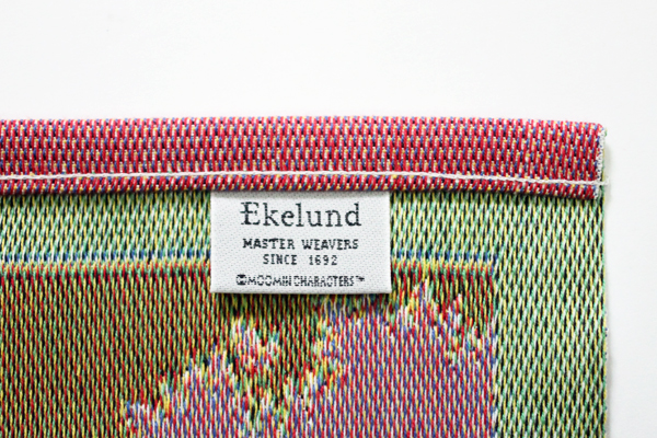 北欧雑貨 エーケルンド (Ekelund) ランチョンマット Moomin Line 35×48cm