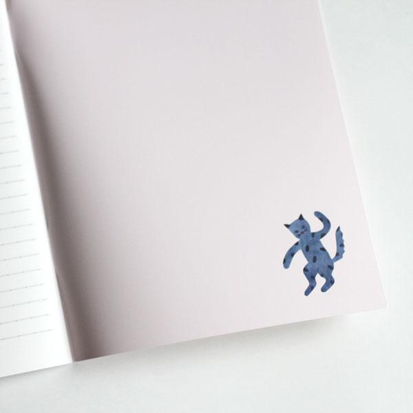 アグネータ・フロック オリジナルノート 猫のレストラン(A5/64P)【メール便対応】