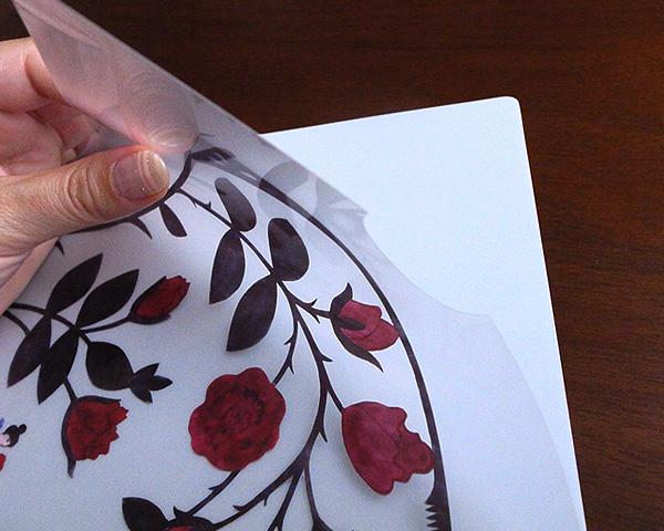 アグネータ・フロック クリアファイル 「ローズジュースII Rose JuiceII」 【A4】