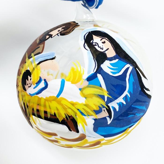 クリスマスオーナメント 聖誕・ハートセット