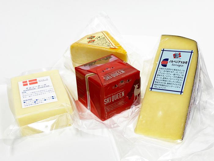 北欧チーズ4種類セット 【送料無料】
