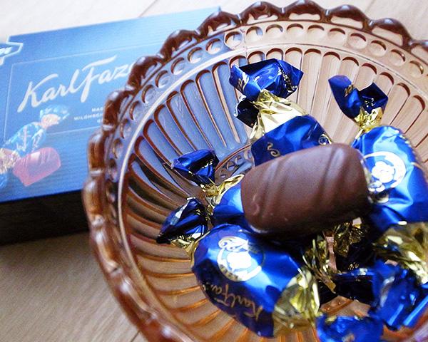 北欧チョコ カールファッツェル ミルクチョコレート 270g