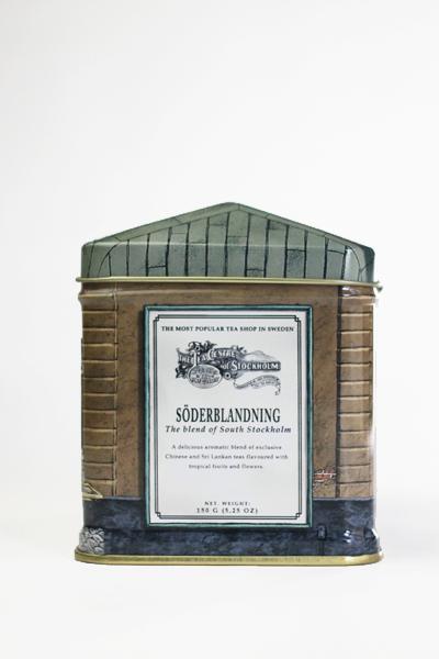 北欧紅茶 セーデルブレンドティー スモールハウス缶