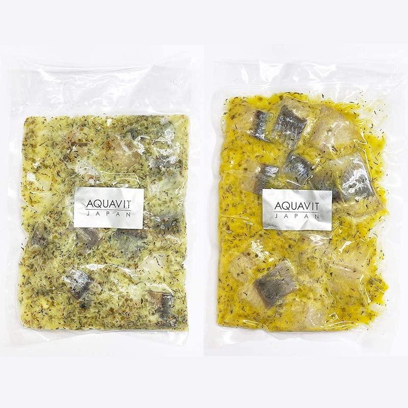 北欧ニシンマリネ2種セット(マスタード味、ディルオニオン味) 【送料無料】