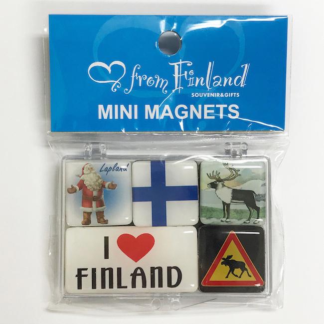 ミニマグネットセット(フィンランド)
