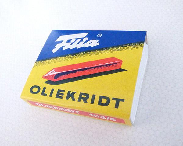 フィリア (Filia) オイルクレヨン 6色