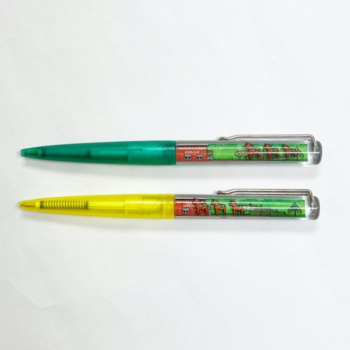 ダーラナホース フローティングボールペン2本