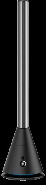 空気清浄機能付 羽なし扇風機 スリムタワーファン 2色|クレスター