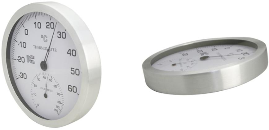 温湿度計  直径30cm |IC