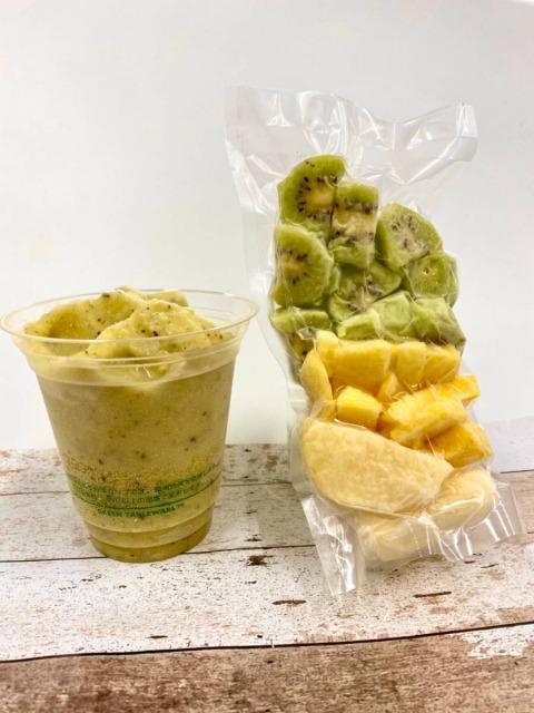 【冷凍フルーツ】 スムージー用フルーツ(個包装) 5種 80パック|デイブレイク